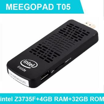 MEEGOPAD T05 Licensed Windows 10 Mini PC Computer TV Stick Quad-Core Intel Z3735F HDMI TV Box 2GB/32GB with Cooling Fan Player Price Philippines
