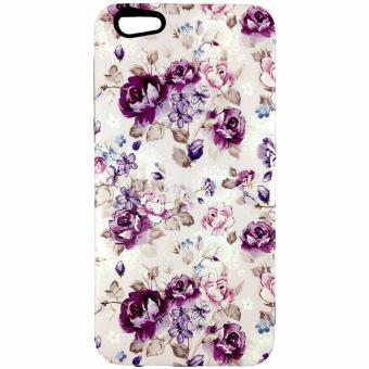 Harga DualPro Hard Shell PC Case with Floral Paint for Oppo F3 Plus #2