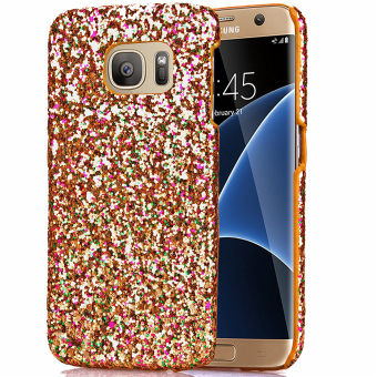 Moonmini PC Back Case for Samsung Galaxy S7 Edge (Golden) Price Philippines