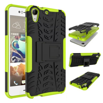 Moonmini TPU/PC Case whith Kickstand Cover for HTC Desire 728 (Green) Price Philippines