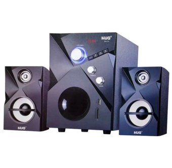 Harga Hug 28-215 2.1 Multimedia Subwoofer Speaker System (Black)