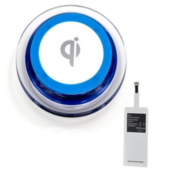 Harga Wireless Charger Set Apple (Qi Blue)