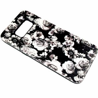Harga DualPro Hard Shell PC Case with Floral Paint for Samsung Galaxy S8 #4