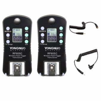 Harga Yongnuo RF-605-C Wireless Transceiver Kit for Canon
