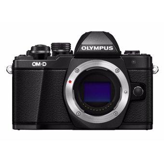 Harga Olympus OM-D E-M10 Mark II Mirrorless Digital Camera [Black - Body only] - intl