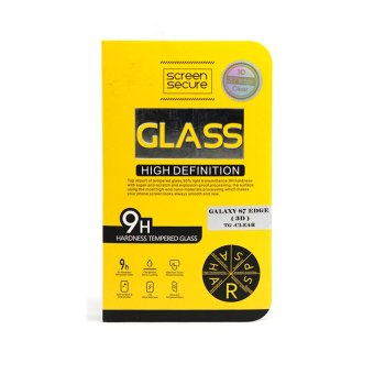Harga Screen Secure 3D Tempered Glass for Samsung Galaxy S7 Edge (Clear)
