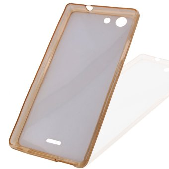 Great Deals TPU Thin Case for My 33 (Clear Light Brown) Price Philippines