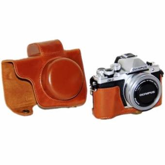 PU Leather Camera case cover for Olympus E-M10 Mark II - intl Price Philippines