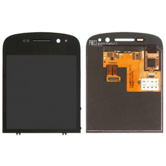 Harga lcd screen Complete Screen lcd display touch screen replacement parts black for Blackberry Q10