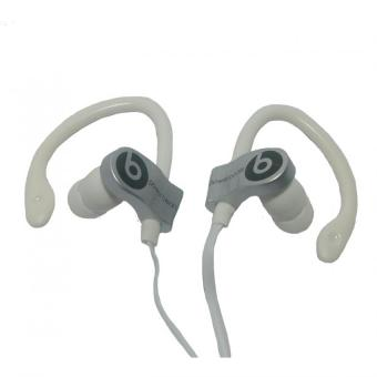 Harga Beats by Dr. Dre Power Beats Monster Stereo Earphones MD-A109 (Silver)