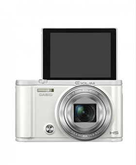 Harga Casio Exilim EX-ZR3600VT Selfie Digital Camera( White)
