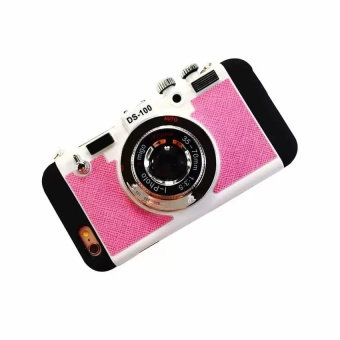Camera Phone cases,Camera Phone Cover,Mobile Phone Cover Hard Plastic cases For iphone 6 Plus and iphone 6s Plus (pink) - intl Price Philippines