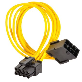 8-Pin PCIE Power Extension Cable for Video Card PCI-Express PCI-E 5X Price Philippines
