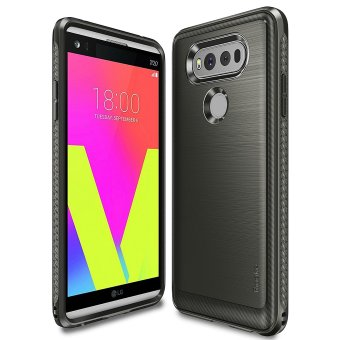 Harga Ringke Onyx PU Cover Case for LG V20 (Mist Gray)