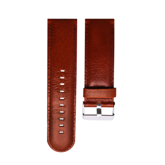 General Leather Waist Strap For Garmin D2 Fenix Fenix3 Fenix3 HR Quatix Quatix3 Tactix(Brown) - intl Price Philippines