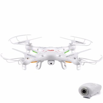 Harga Syma X5C-1 2.4 GHz Gyro RC Quadcopter Drone With Camera (White)