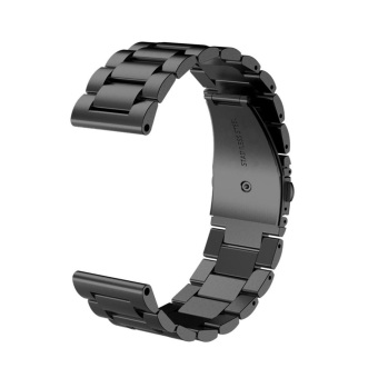 Watchband Strap for Garmin Fenix 3 or HR Multi-Sport Trainning GPS Watch Stainless Steel in Black - intl Price Philippines