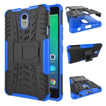 Moonmini High Impact Shockproof Case Cover for Lenovo Vibe P1m - Blue Price Philippines