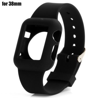 Colorful Replacement Watch Strap Silicone Fitness Bracelet Band for iWatch Apple Watch 38mm - intl Price Philippines