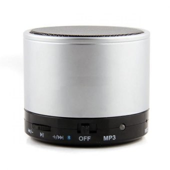 Harga Mini G2 Bluetooth Speaker with MP3 (Silver)