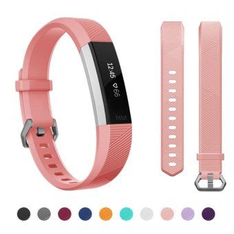 Harga Hanlesi Fitbit Alta HR Band , Newest Universal Fitbit Alta HR / Fitbit Alta Band Replacement Sport Fitness Wristband Strap with Secure Metal Buckle for Fitbit Alta HR 2017 - intl