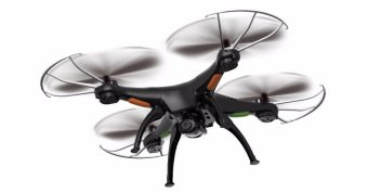 Harga Syma X5SW Drone Quadcopter with 2MP Camera (Black)