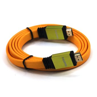 Harga Cable Monster B018 1.5m HDMI Cable (Light Orange)