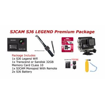 Harga SJCAM SJ7 Star Native 4K Action Camera Premium Package