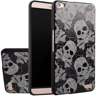 Harga RUILEAN Soft TPU Case For Huawei Mediapad Honor X1 Skull 3D Embossed Painting Series Protective Cover