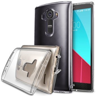LG G4 Ringke Fusion Shock Absorption Bumper Hybrid Case [Free HD Screen Protector] (Crystal View) Price Philippines