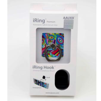 iRing Reusable 3-in-1 Safety Grip/Kickstand/Car Cradle for Smart Devices (Kaleidoscope) Price Philippines
