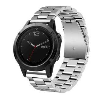Stainless Steel Watch Band Strap for Garmin Fenix 5 Multiport GPS Watch - intl Price Philippines
