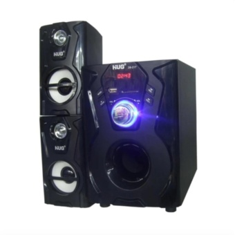 Harga HUG H28-217 Subwoofer Speaker w/ USB slot & built-in FM Radio