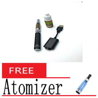 Harga CE5 E-Cigarette (Black) with Free Smoke Oil 10ML and Atomizer #3