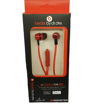 Harga Beats by Dr. Dre Stereo earphones (red)