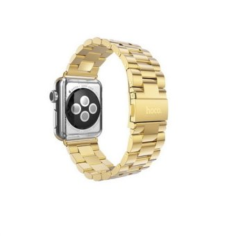 Bluesky Apple Watch Band 38mm Solid Stainless Steel Watch Strap for iWatch Metal Replacement Wrist Band with Classic Buckle fits Apple Watch Sport and Edition Gold Price Philippines