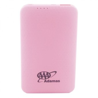 Adamas AAA 5000mah Super Thin Mobile Power Bank (Pink) Price Philippines