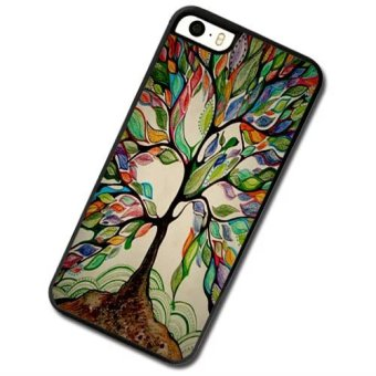 Colorful tree tree Phone Case For Apple iPhone 5c - intl Price Philippines
