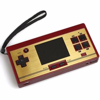 FC Pocket Game Console Handheld Family Computer with 478 Games Plus 122 Games Extra Cartridge (Gold/Red) Price Philippines
