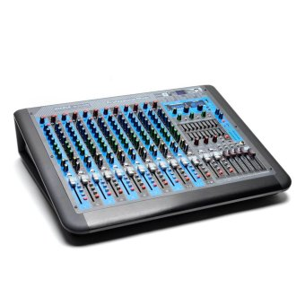 Harga Mickle MK-GX12USB 12 Channel Professional Mixer (Black)
