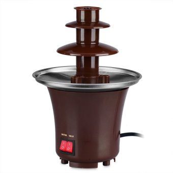 Harga Mini Chocolate Fondue Fountain (Brown)