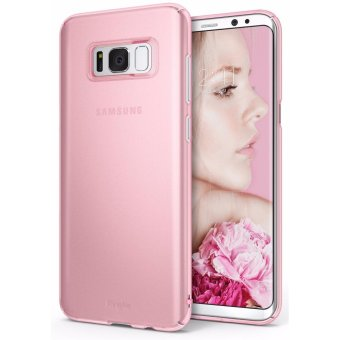 Harga Ringke Slim Case for Samsung Galaxy S8 Plus (Frost Pink)