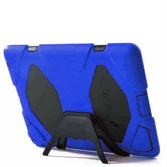 Harga Griffin Survivor Military Silicone Hard Case for iPad Mini 4 (Blue)