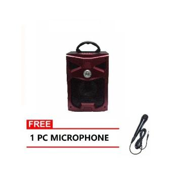 Mobile Bluetooth Portable Speaker RX-301(RED) Price Philippines
