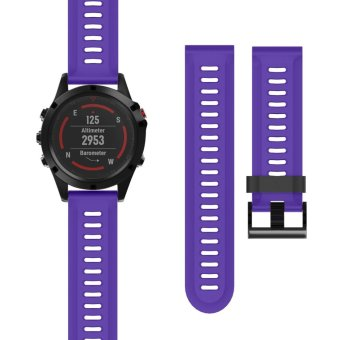 Silicone Watch Band Strap for Garmin Fenix5X Fenix 5X Fenix3 GPS Watch With Tools - intl Price Philippines