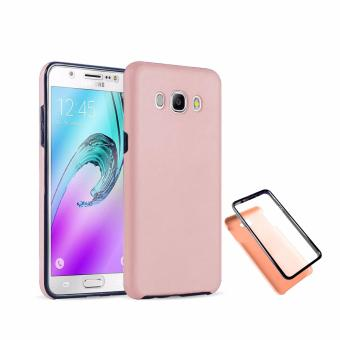 Harga Full Cover 360 Shockproof Case for Samsung Galaxy J2- RoseGold