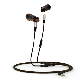 Plextone X46M Detachable HiFi Earphones With MIC (Gray)--TC--TC Price Philippines