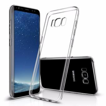Harga LUOWAN Galaxy S8 Case with Clear Shock Resistant Protection TPU Bumper for Samsung Galaxy S8 (2017) (Clear)