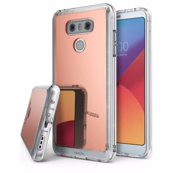 Harga Ringke Mirror Case for LG G6 (Rose Gold)