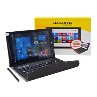 Cloudpad Epic 8.0 16GB with FREE Smart Pen and Bluetooth Keyboard (Red) Price Philippines